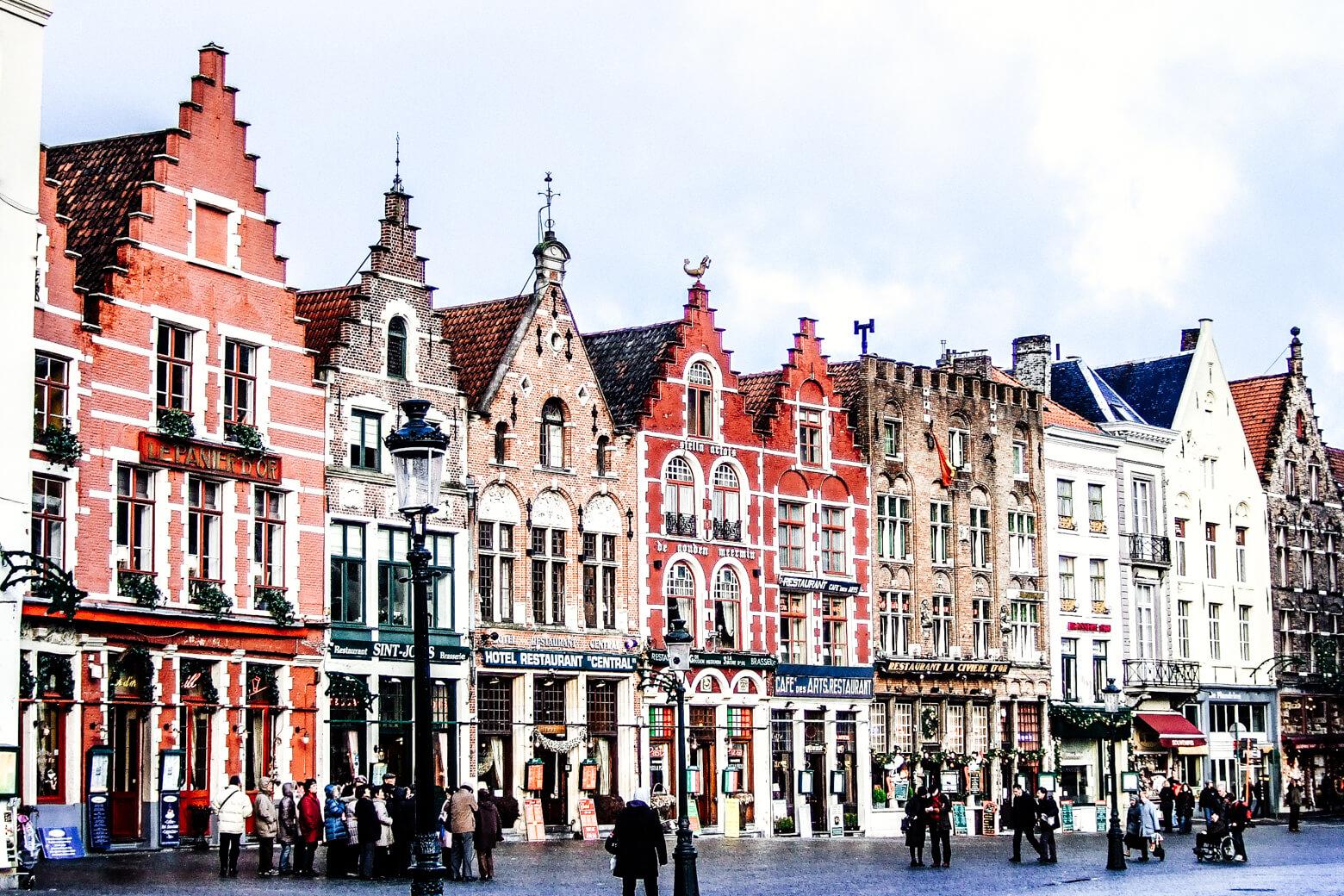 Bruges Centre Square