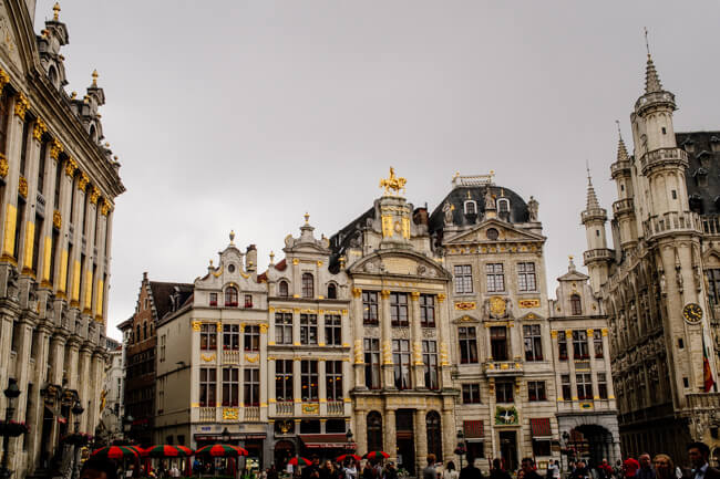 Brussels isn't *that* boring.