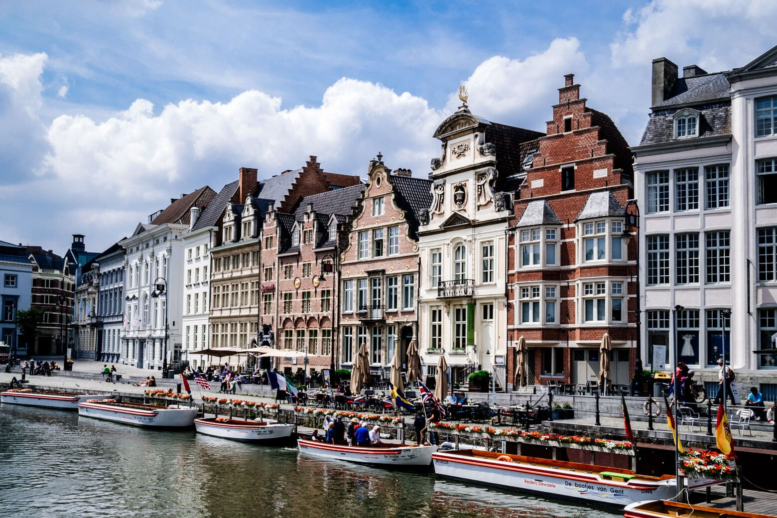 Canal in Flemish Ghent