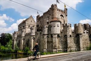 A castle in Ghent Belgium