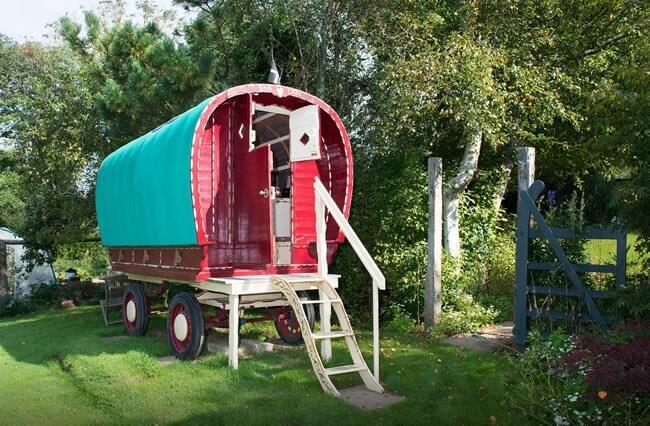Stay in a Vintage Gypsy Caravan