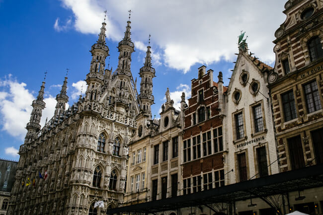 Leuven Grote Markt