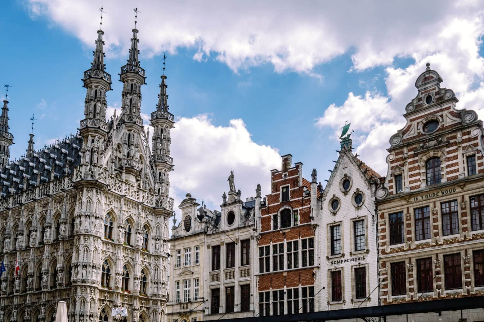 Leuven Old Town Centre