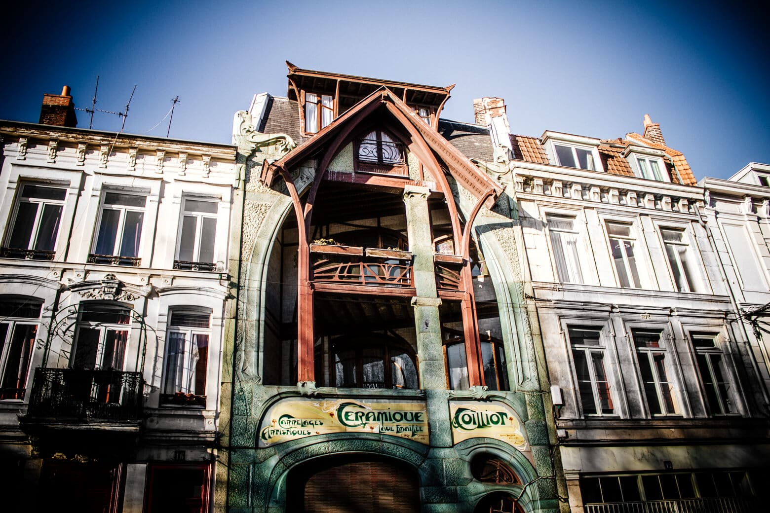 Hector Guimard's Maison Coilliot in Lille