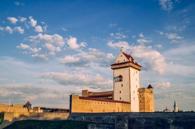 Hermann Castle on the Estonian Border