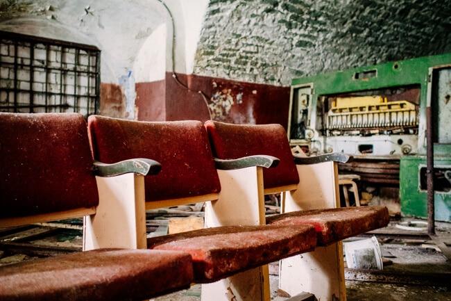 Abandoned Patarei Prison Estonia