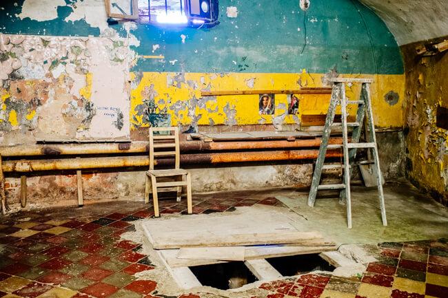 Patarei Prison Death Chamber