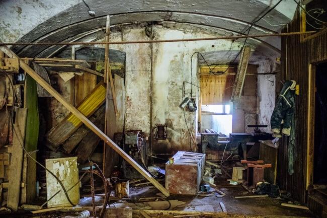 Abandoned Soviet Era Prison in Estonia