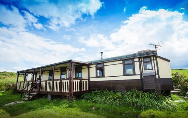 Railway Carriage Hotel in Wales