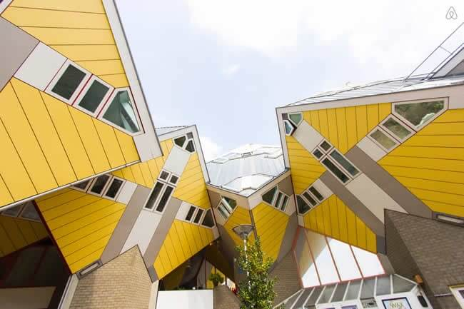 Quirky Rotterdam Cubehouses