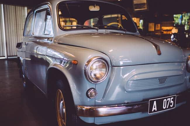 Cute Soviet Era Car