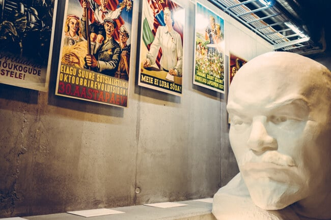 Lenin at the Museum of Occupations
