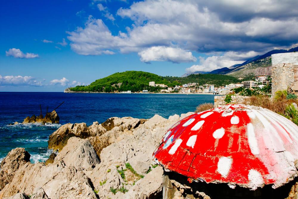 Mushroom Bunker in Himara