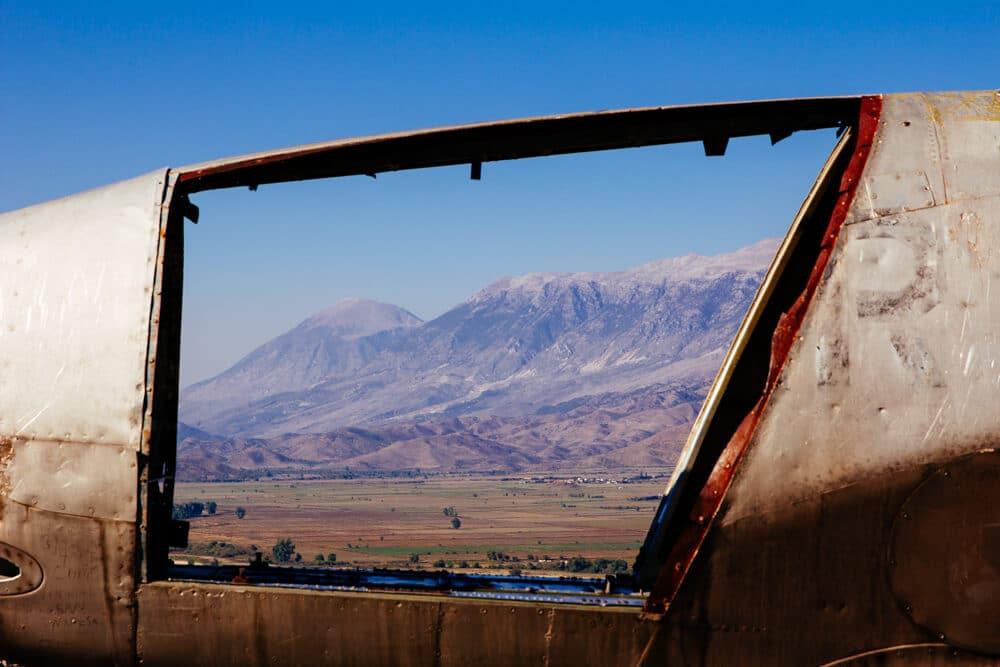 Gjirokastra Captured US Plane