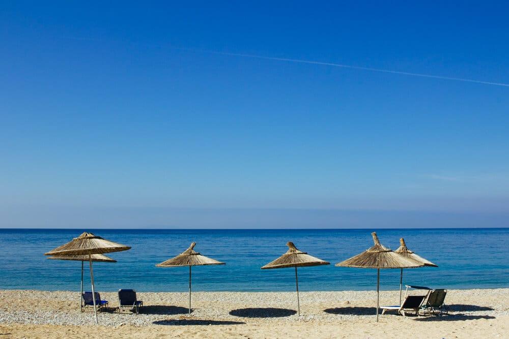 Himara Beach Umbrellas