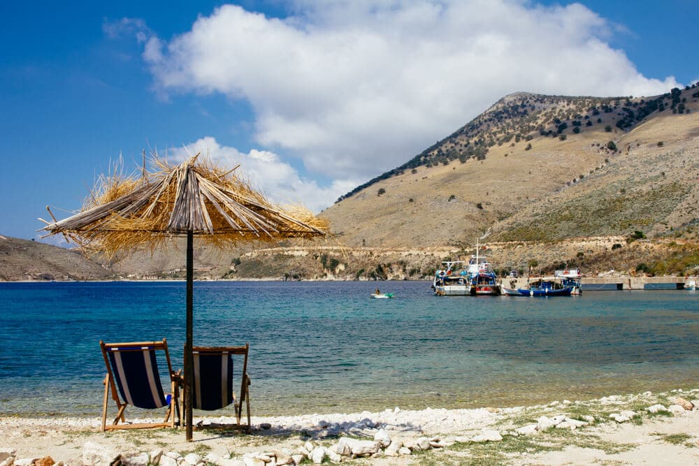 Fishing Village Near Himara