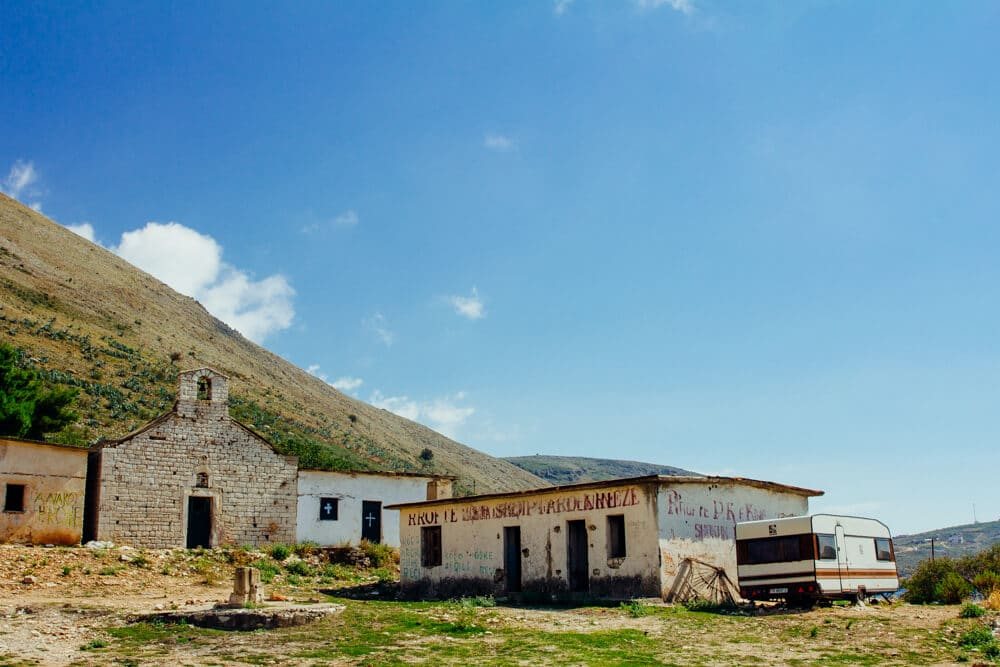 Almost Abandoned Village Near Himara