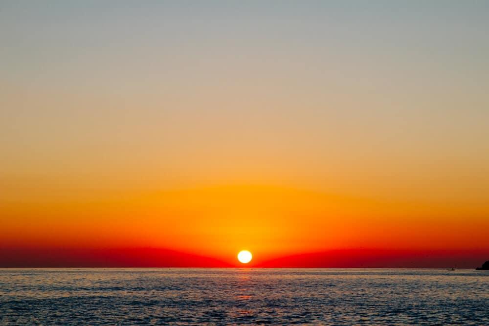 Another Amazing Sunset in Saranda