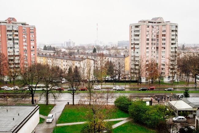 I want to hibernate in Ljubljana.