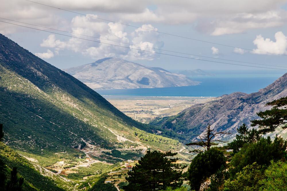 Llogara Pass Near Vlora