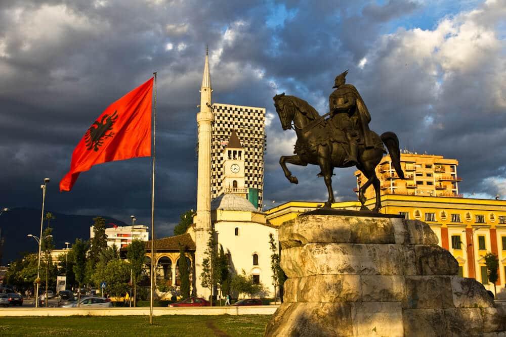 Tirana's Main Square