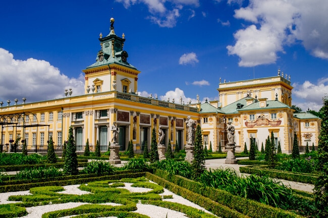 Love this palace in Warsaw.