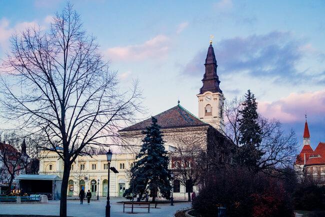 Kecskemet Main Square