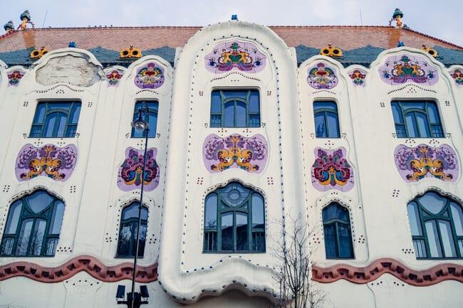 Ornamental Cifra Palota in Kecskemet