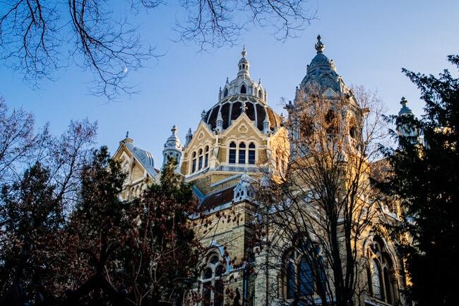 Szeged Art Nouveau Synagogue