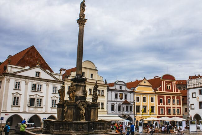 Cesky Old Town Square