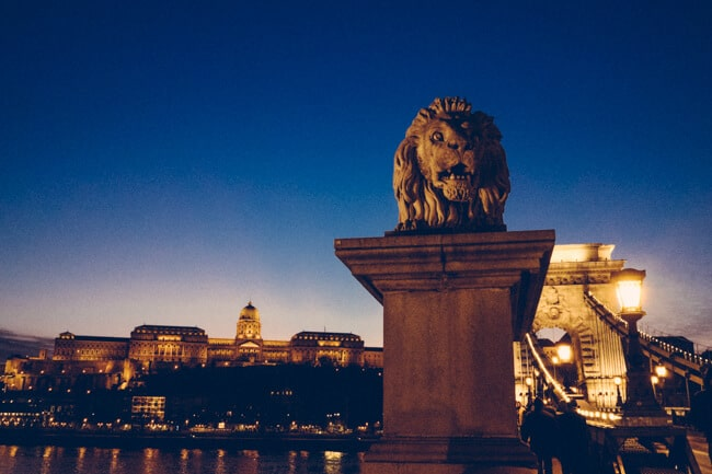 Chain Bridge & Buda Castle