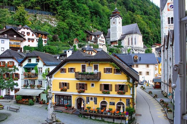 Hallstatt Village Centre