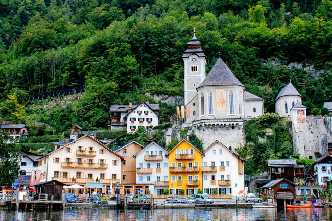 Hallstatt Church View