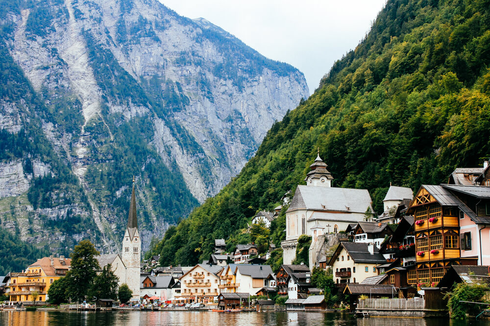 Hallstatt Village on the Lake