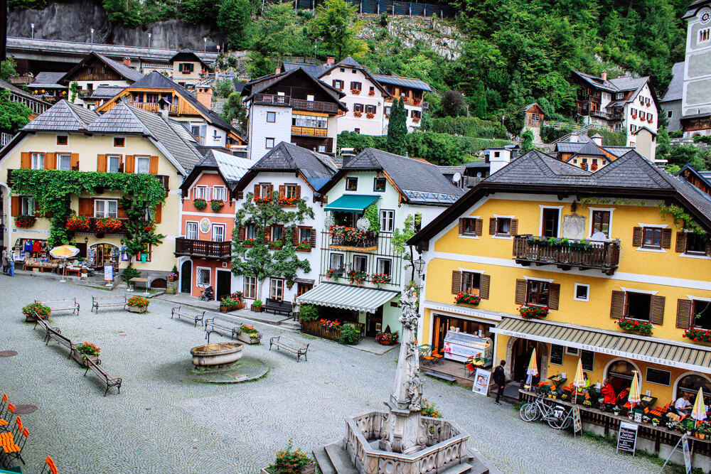 Hallstatt Village Centre