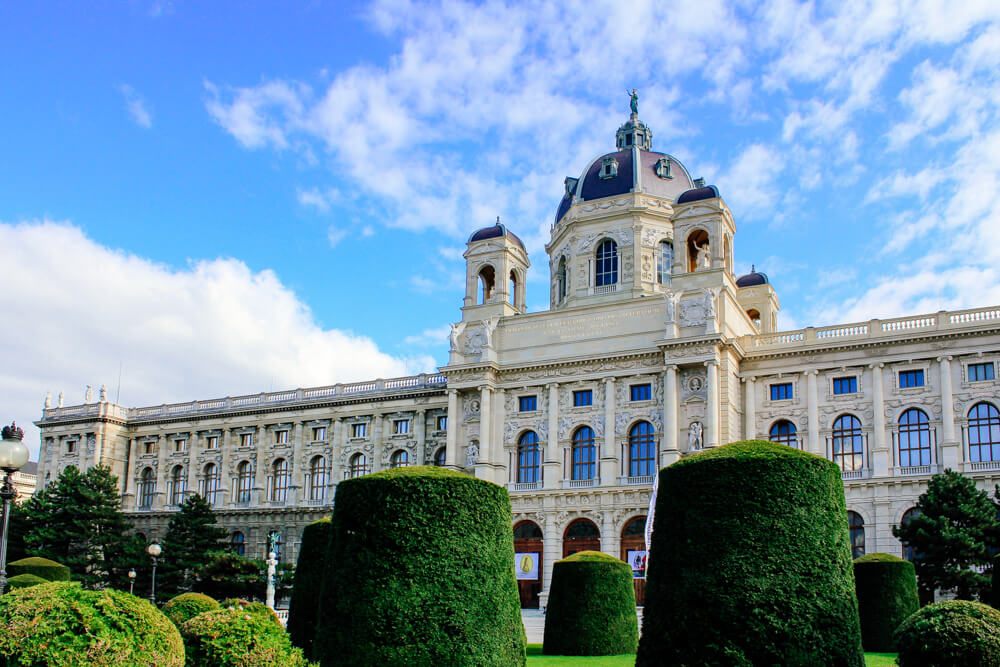 One of Many Museums in Vienna