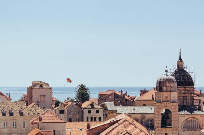 Dubrovnik's Rooftops & Parasailing