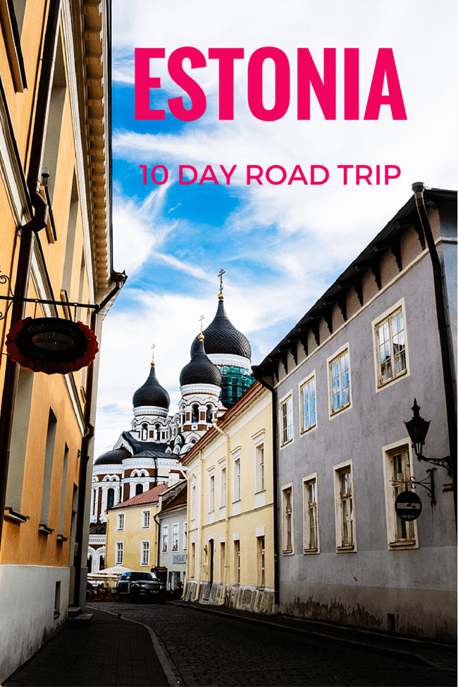 Estonia 10 Day Road Trip