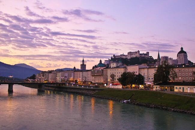 Sunrise in Salzburg