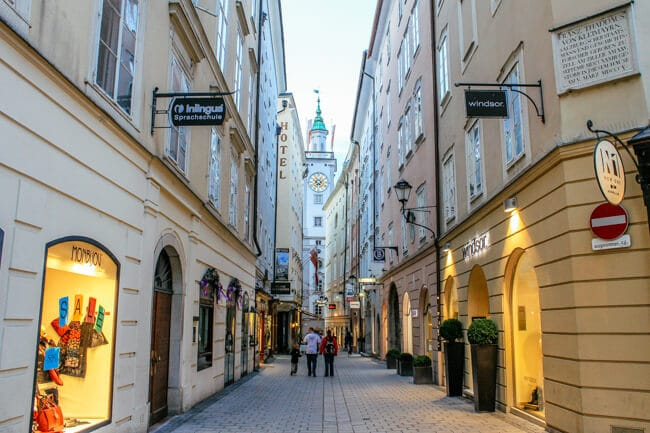 The Streets of Salzburg