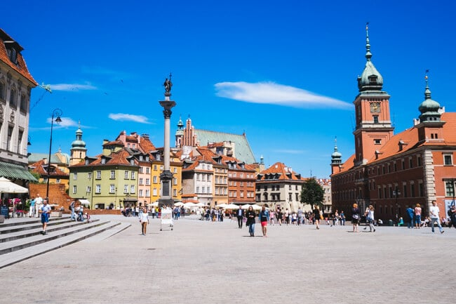 Warsaw's New Old Town