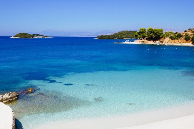 Ksamil Beach and Islands