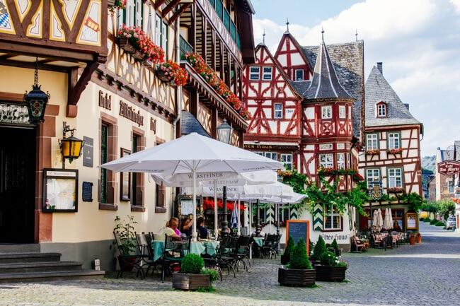 Frankfurt to Bacharach
