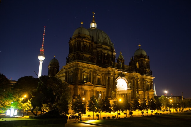 Berlin Cathedral & TV Tower