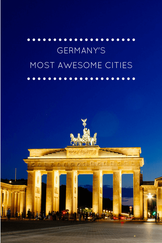 The Best of Germany's Awesome Big Cities
