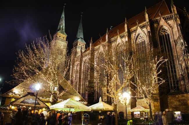 Nuremberg at Christmas