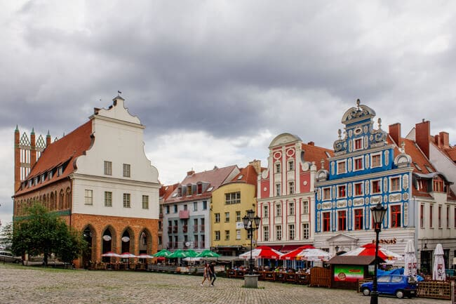 Szczecin Old Town and Market Square