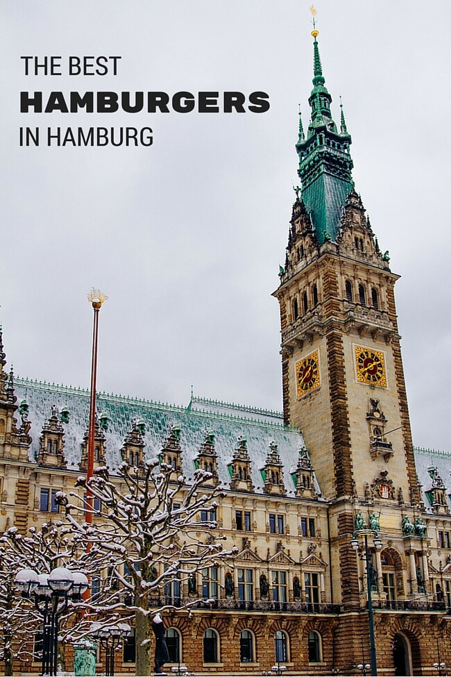 The Best Hamburgers in Hamburg