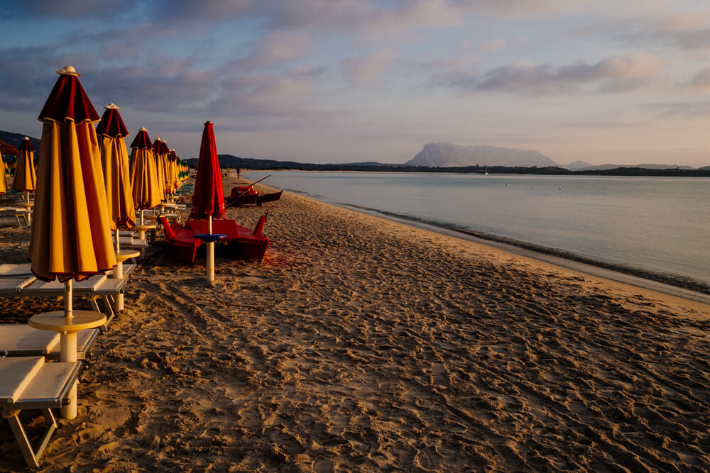 La Cinta Beach Umbrella Sunrise