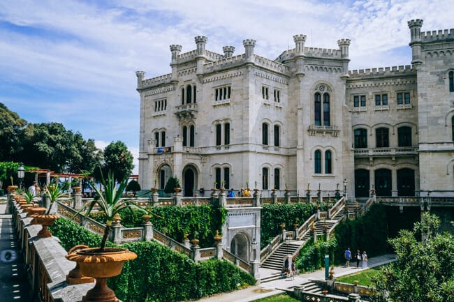 Miramare Castle and Gardens